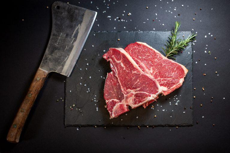 T-Bone-Steak mit wunderbarer Marmorierung